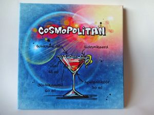 "Lõuend ""Cosmopolitan"""