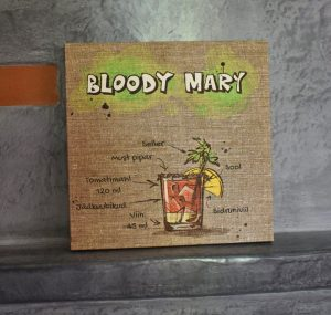 "Lõuend ""Bloody Mary"""